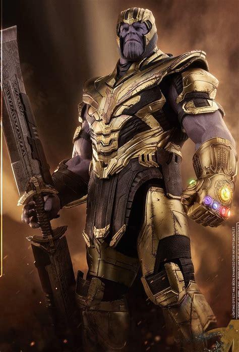 AVENGERS: ENDGAME   Vistazo detallado de THANOS y su armadura