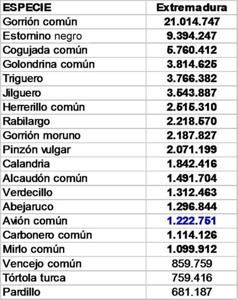 Aves de Extremadura: LAS AVES MÁS COMUNES DE EXTREMADURA