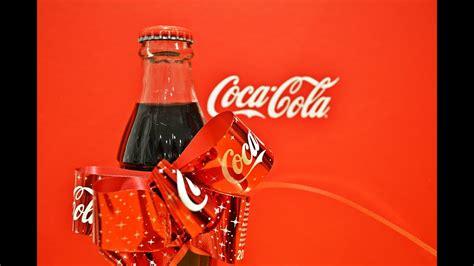 Awesome Coca Cola Christmas Bottle Ribbon   YouTube