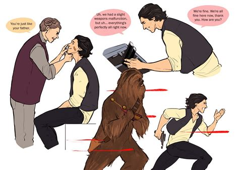 Aww... Ben could have carried on Han s legacy, he and ...