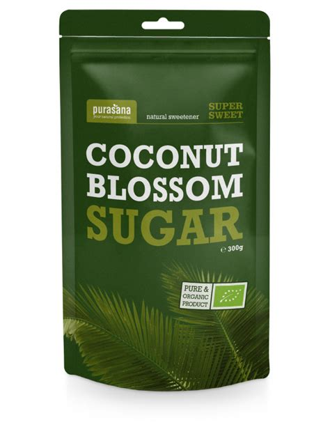 Azúcar de coco  coconut blosson sugar . 300 g. Pura sana