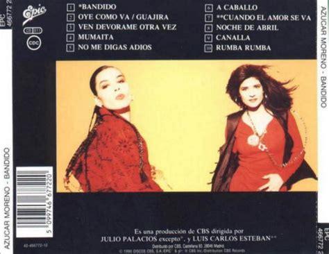 Azucar Moreno   Bandido  1990    Compartiendo... solo ...