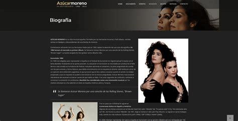 Azúcar Moreno. Web oficial