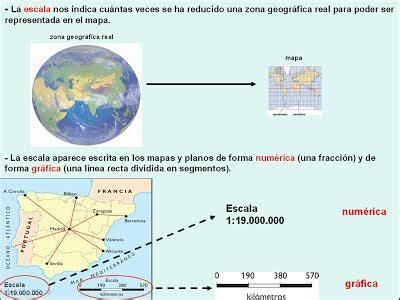 b  Tipos de mapas, escalas y coordenadas.   Ciencias ...
