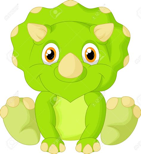 Baby Dinosaur Cartoon | Free download on ClipArtMag