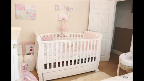 Baby Girl Nursery / Room Tour   YouTube
