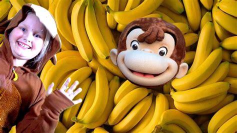Baby Monkey Banana Dance   Fun Explorers   YouTube