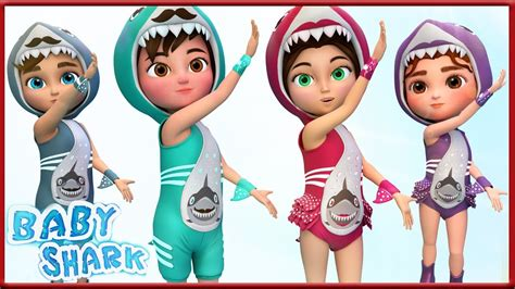 Baby Shark Dance IN THE School | Sing and Dance! | Shark ...