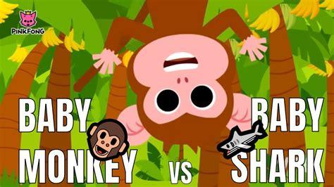 Baby Shark vs Baby Monkey Mashup Remix  Daddy Shark Song ...