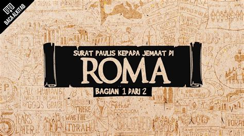 Baca Alkitab: Roma Ps. 1 4   YouTube