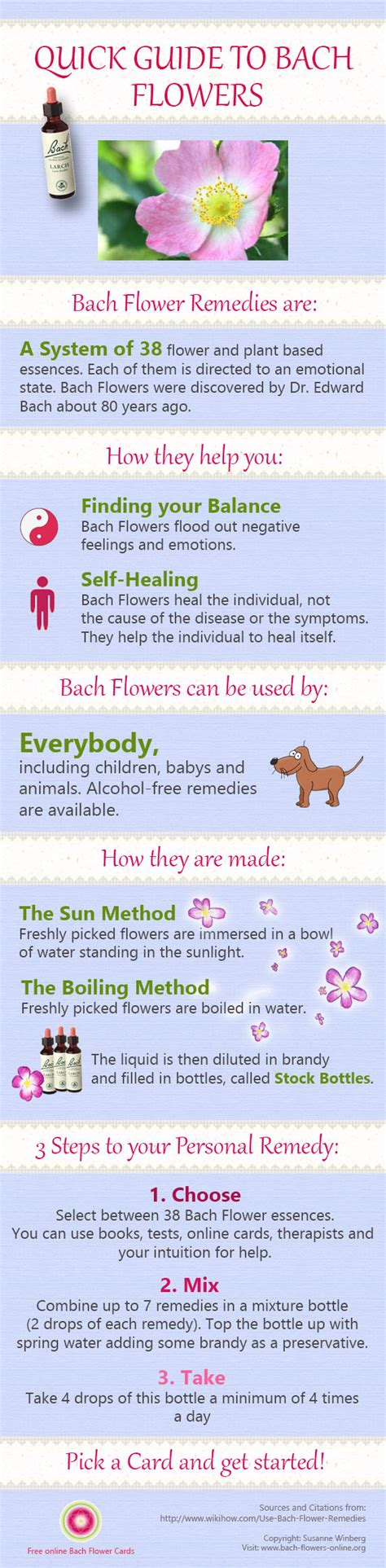 Bach Flower essences are wonderful to help you keep your ...