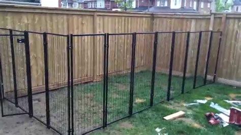 Backyard Renovation Building the Dog Fence part 2   YouTube