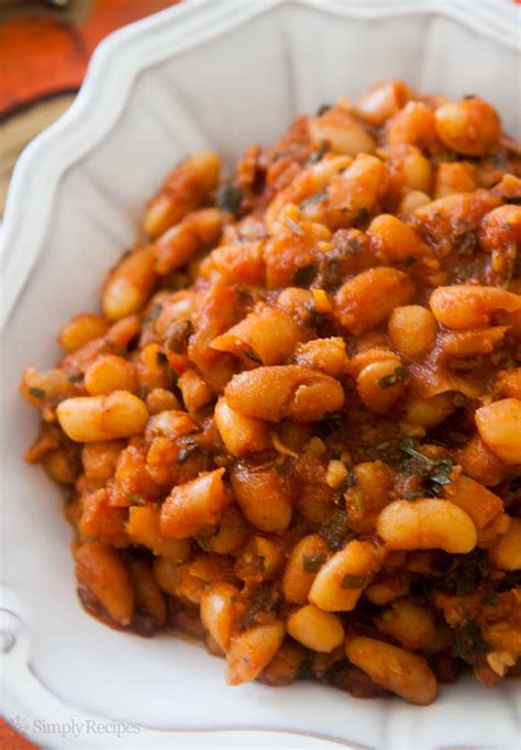 Baked Beans in Tomato Sauce Recipe | SimplyRecipes.com