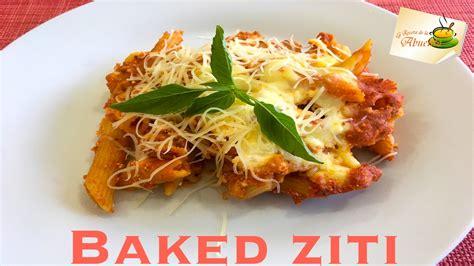 Baked ziti facilisimo receta en español   YouTube