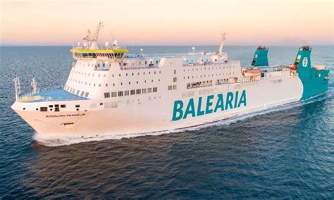 Baleària To Be The World s First Shipping Line With BV ...