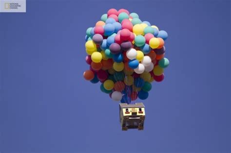 Balloon Suspended Up House Built In Real Life | The Mary Sue