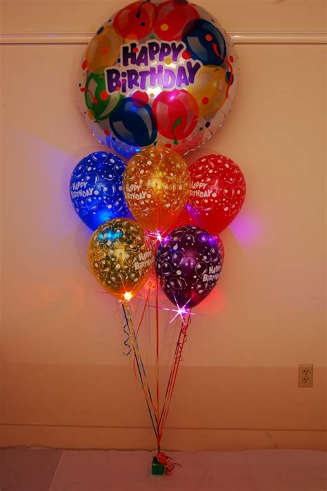 Balloon Zilla Pic: Birthday Balloon Bouquets