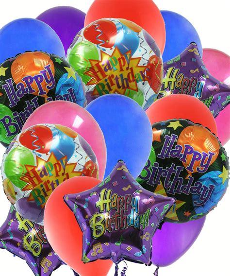 Balloon Zilla Pic: Birthday Balloon Bouquets