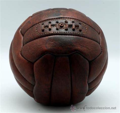 Balon futbol ingles en cuero años 20   Vendido en Venta ...