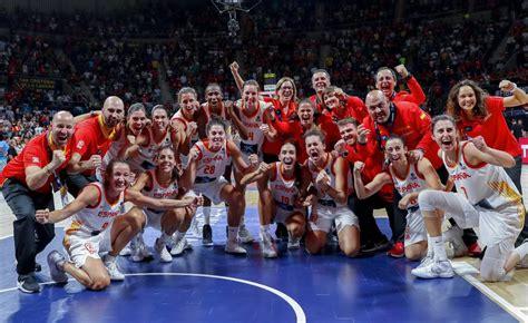 Baloncesto femenino: España logra el bronce del Mundial ...