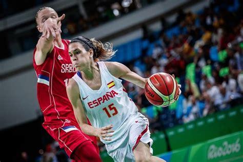 Baloncesto femenino: España   Serbia en directo
