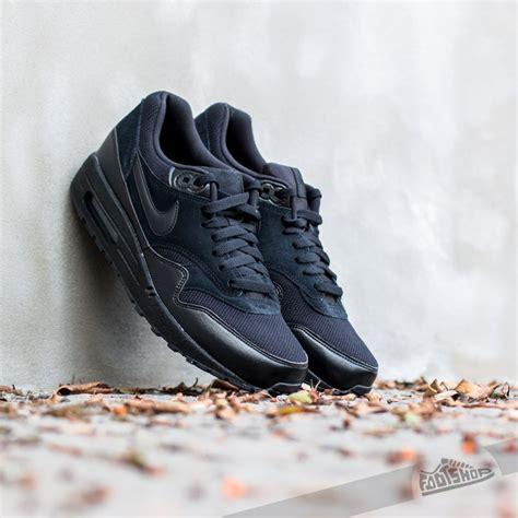 Bambas Hombre Nike Air Max 1 Essential Black/Black