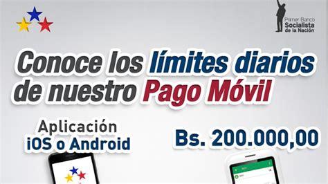 Banco Bicentenario actualizó el límite de Pago Móvil y de ...