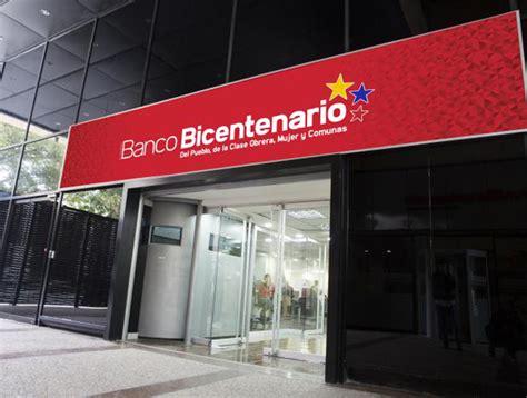 Banco Bicentenario aumenta límites diarios de servicio en ...