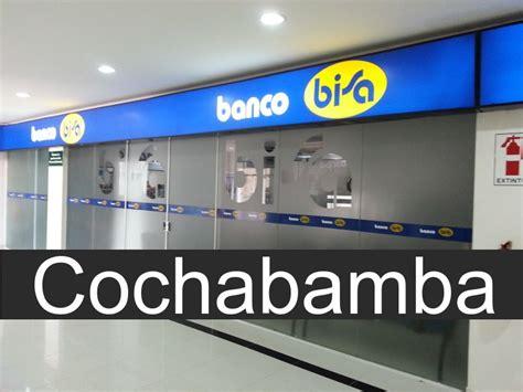 Banco Bisa en Cochabamba   Sucursales