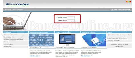 Banco Caixa Geral   Banca Online