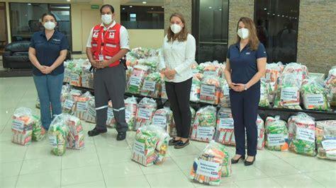 Banco Cuscatlán y SISA donan mil paquetes de alimentos al ...