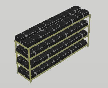 Banco de baterias en AutoCAD   Descargar CAD  282.91 KB ...