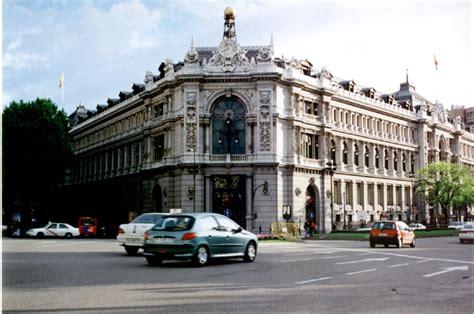 Banco de España, headquarters of the national Bank of Spain