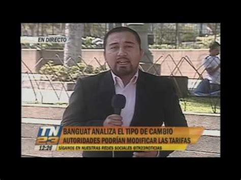 Banco de Guatemala analiza tipo de cambio   YouTube