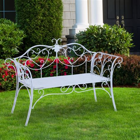 Banco de Jardín para 2 Personas – Color blanco – Ace...