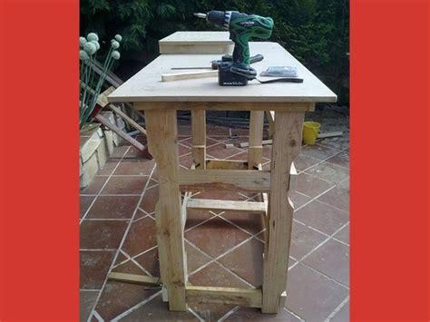 Banco de trabajo con madera de palet   Bricolaje