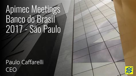 Banco do Brasil S.A.  BDORY  Apimec Meetings 2017  Sao ...