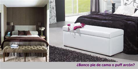 ¿Banco pie de cama o puff arcón? | Decoración
