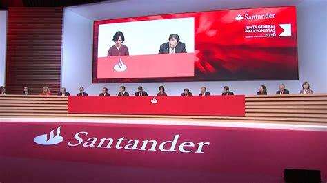 Banco Santander aumenta un 5 por ciento el dividendo por ...