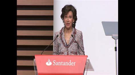 Banco Santander aumentará un 5% el dividendo por acción ...
