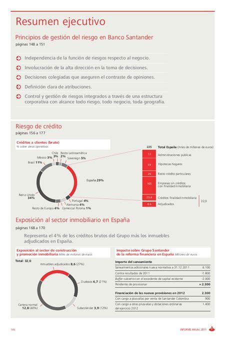 Banco Santander Informe de riesgos 2011