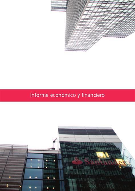 Banco Santander Informe economico financiero 2011