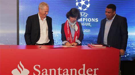 Banco Santander, nuevo patrocinador de la Champions   AS ...