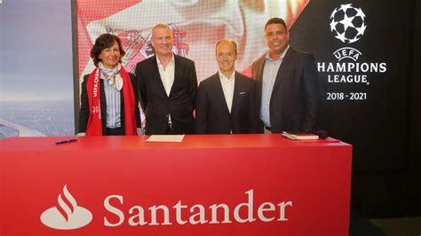 Banco Santander, nuevo sponsor de la Champions League   AS.com