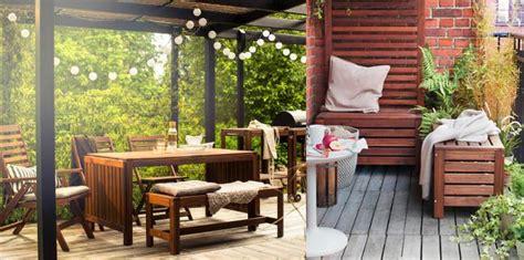 bancos de jardin ikea madera applaro   mueblesueco