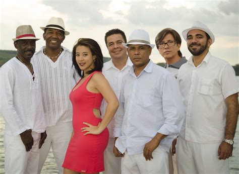 "Band ""Sabor de Cuba"" performs at Clube do Choro 