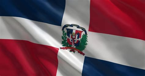 Bandera, republica dominicana, flag, bandera republica ...