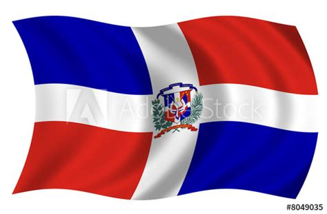 Bandera Republica Dominicana  Stock photo and royalty ...
