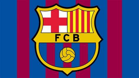 Bandera y Escudo del Fútbol Club Barcelona   Barcelona ...