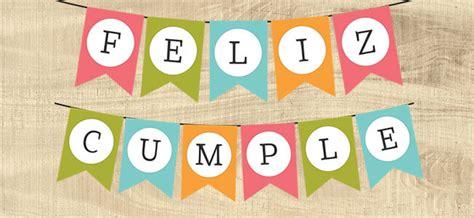 Banderín imprimible de feliz cumpleaños   Cartel Gratis